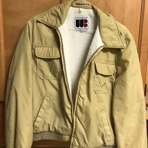 William Barry Made in USA Jacket Sherpa fits Small